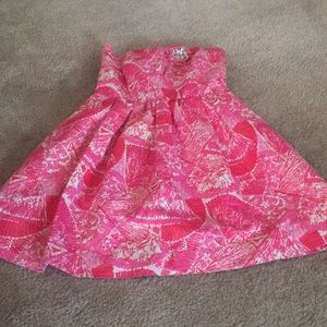 MOVING SALE! NWOT Lilly Pulitzer strapless dress